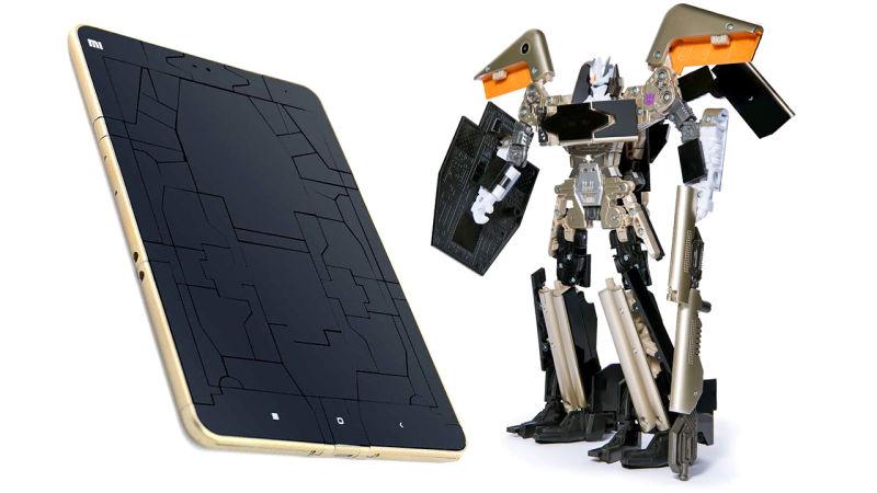Xiaomi Transformers Soundwave Mi Pad 2 Hasbro
